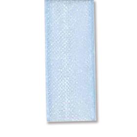 Bånd organza 10mm 10m – lys blå