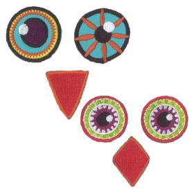 Pronty Strykemerke – Eye See You Medium – Face Owl eyes