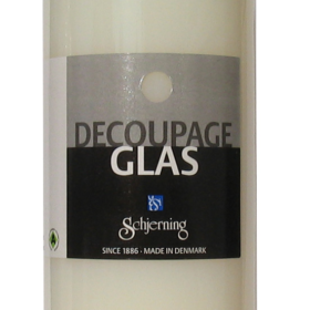 Decoupage glass/porselen 250ml
