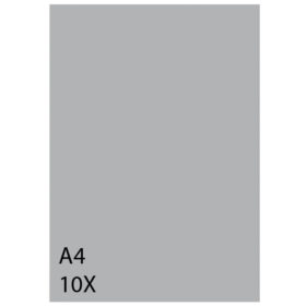 Pronty Sjablongplast A4 – 10stk