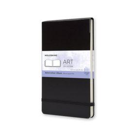 Moleskine Art Watercolor Album Hard L – Blank Black