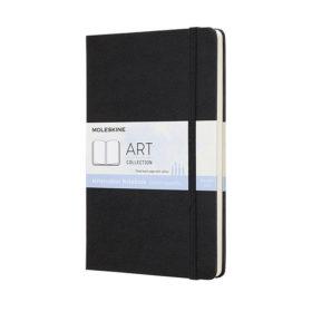 Moleskine Art Watercolor Notebook Hard L – Black