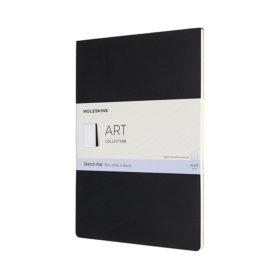 Moleskine Art Sketch Pad A4 – Blank Black