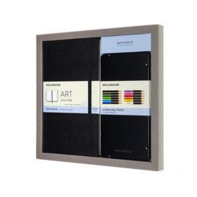 Moleskine Art Sketcking Kit Watercolour Hard L – Blank Black