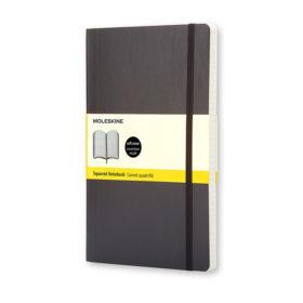 Moleskine Classic Notebook Hard L – Linjert Black