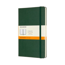Moleskine Classic Notebook Hard L – Linjert Myrtle Green