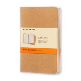 Moleskine Cahier Journal P – Linjert Kraft Brown
