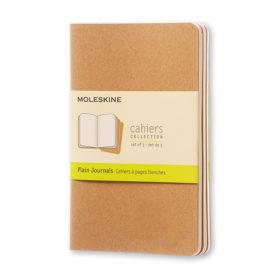Moleskine Cahier Journal P – Blank Kraft Brown
