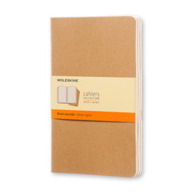 Moleskine Cahier Journal L – Linjert Kraft Brown