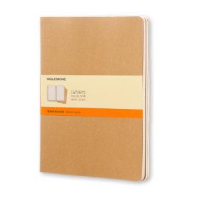 Moleskine Cahier Journal XL – Linjert Kraft Brown