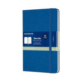 Moleskine Two-Go Notebook Hard M – Mixed Lapis Blue