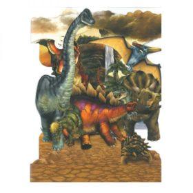 Swing Cards dinosaur