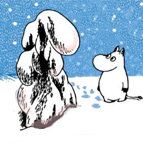 Mummi serviett – Tung snø