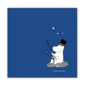 Mummi servietter – Mummipappa blå