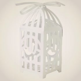 Something in the Air - birdcage favour boxes 10stk