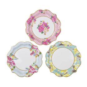 Truly Scrumptious - paper plates 12stk