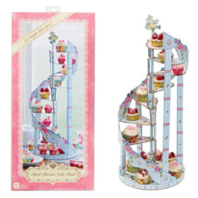 Truly Scrumptious - spiral staircase cake stand