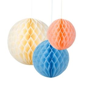 Decadent Decs - honeycombs decorations 3stk