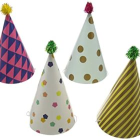 Party Time - party hats 4stk