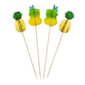Tropical Fiesta -  pineapple picks