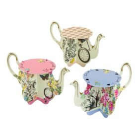 Truly Alice - Teapot Cake Stand 6stk