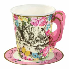 Truly Alice - cups & saucers 12stk