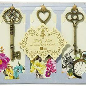 Truly Alice - keys & cards 6stk