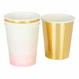 We Love Pink - paper cups 12stk