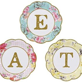 Truly Scrumptious - paper plates EAT 12stk