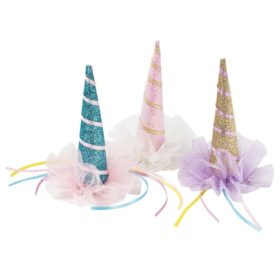 We Love Unicorns - partyhatt med klype 1stk