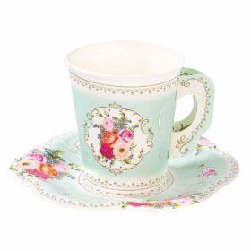 Truly Scrumptious - cups & saucers 12stk