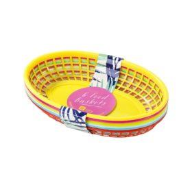 Tropical Fiesta - food basket 6stk