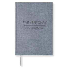 Fem års dagbok – Denim
