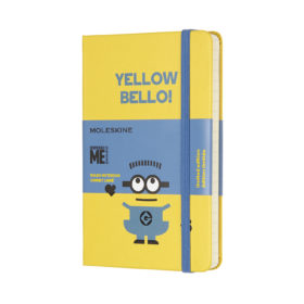 Moleskine Notebook LE Hard L – Linjert Minions