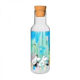 Glassflaske – Moomin in the jungle