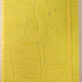 Ivory 130x210 flamingo lime