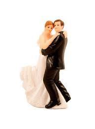 Brudepar dansende 10cm