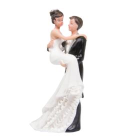Brudepar romantisk 10cm
