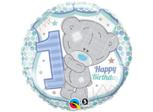 Folieballong - Tiny Tatty 1st Birthday Boy