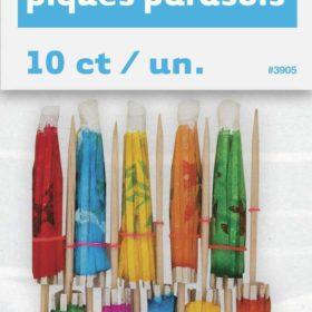 parasol picks 10stk