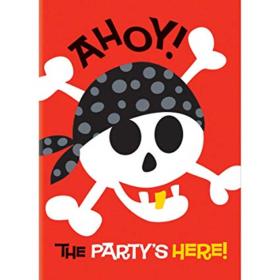 Invitasjon pirate fun