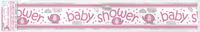 FoilBanner baby shower girl