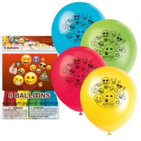 ballong Emoji 8stk