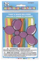 Ballonger 25pk animal baloons