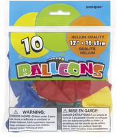 Ballonger 10pk ass.