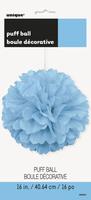 puff decor powder blue