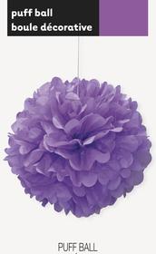 puff decor pretty purple