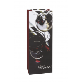 Winebag chic silver