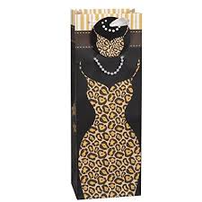 Winebag leopard dress