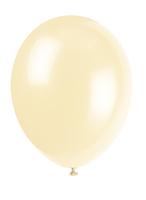 Ballonger 10pk ivory cream